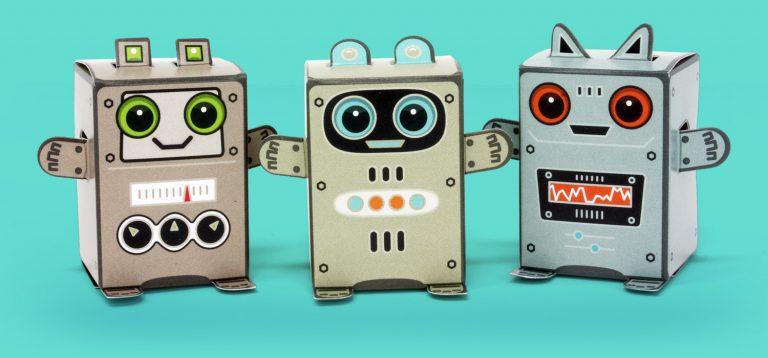 Box Buddies Galactics robots
