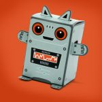 Box Buddies Galactics Zink the Robot