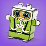 Box Buddies Galactics Star the astronaut