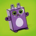 Box Buddies Pets Hoppy the rabbit