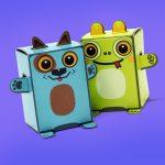 Box Buddies Pets Ruff and Gek