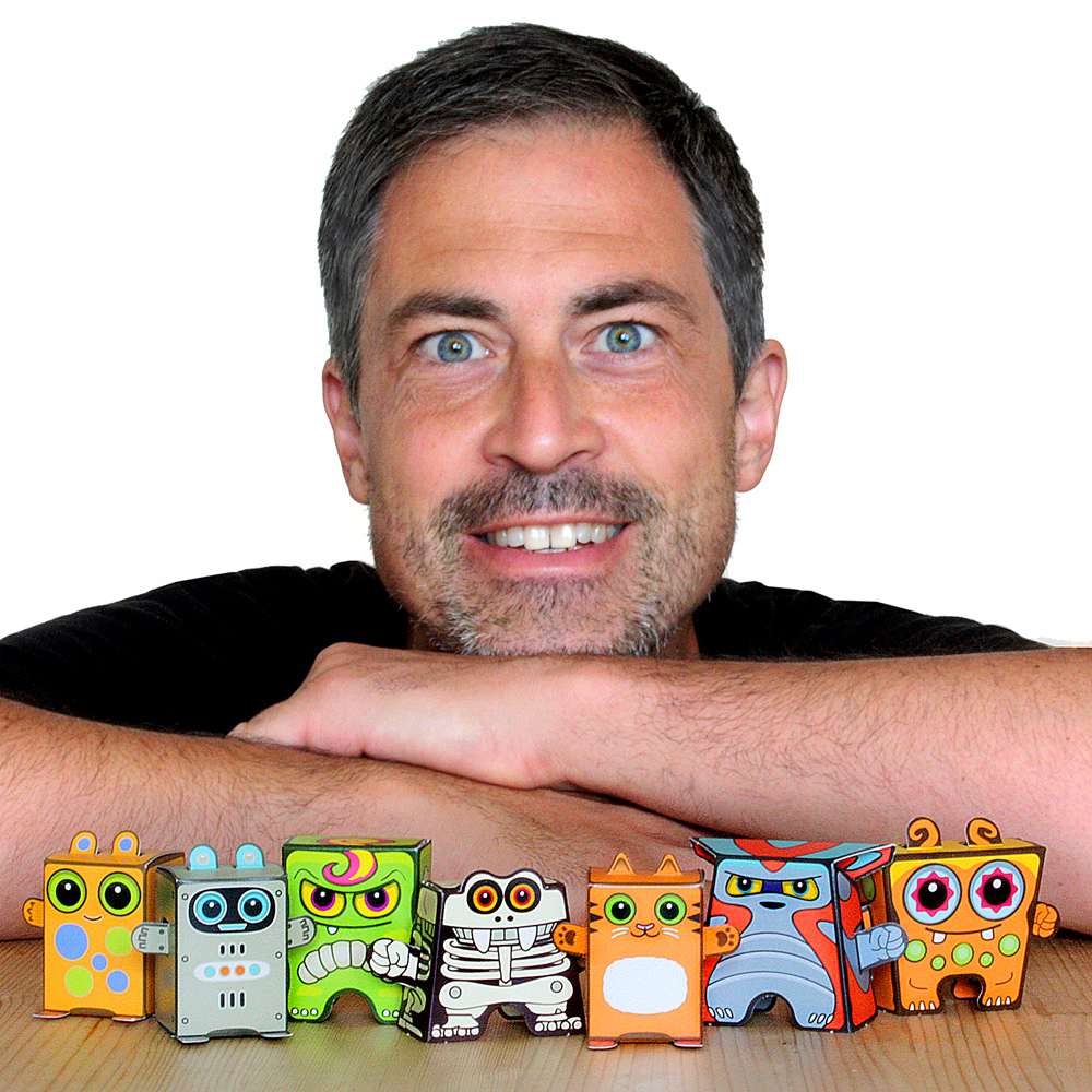 Jon Klemenz, Creator of Box Buddies and OiDroids