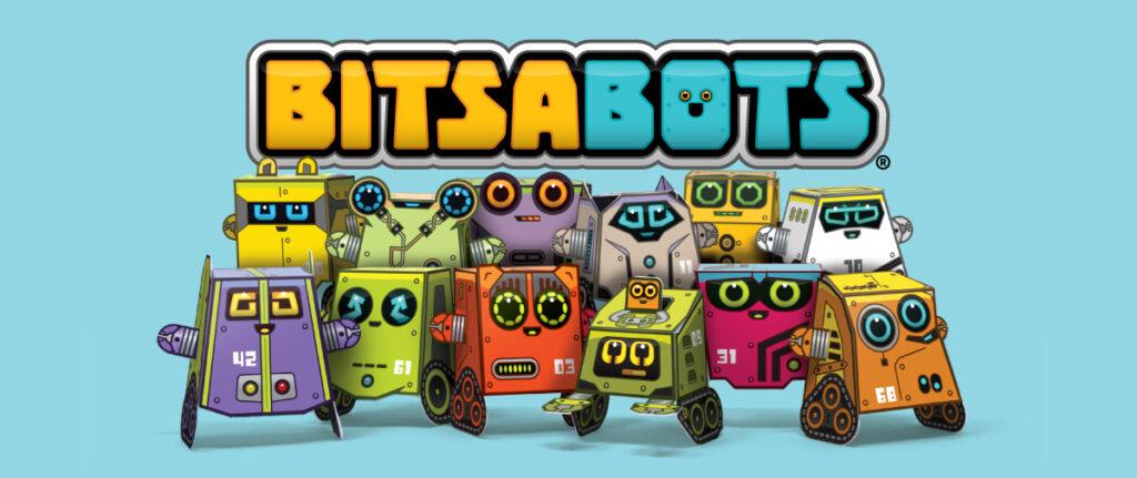 Box Buddies Bitsabots paper toy robots