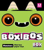 Box Buddies Boxibos Monsters pack