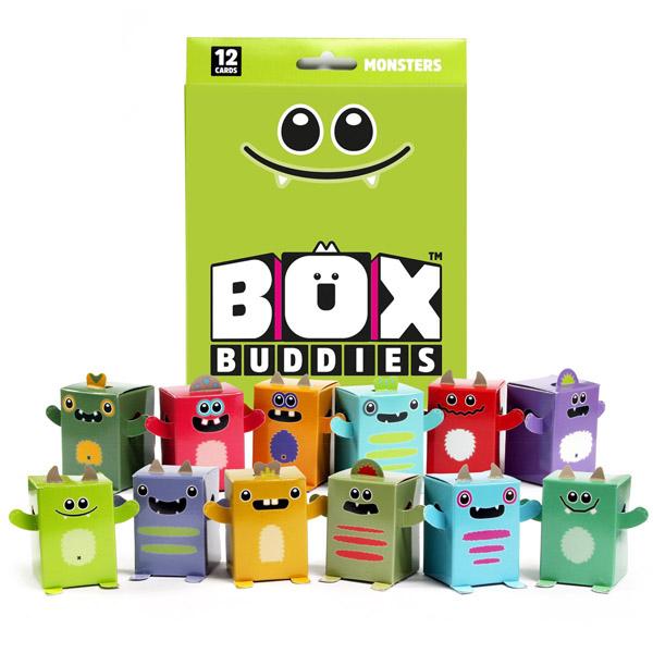 The original Box Buddies Monsters set